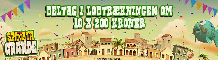 Vind 200 kroner på Spinata Grande hos Danske Spil