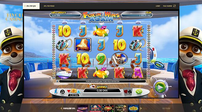 Foxin Wins Again spilleautomat