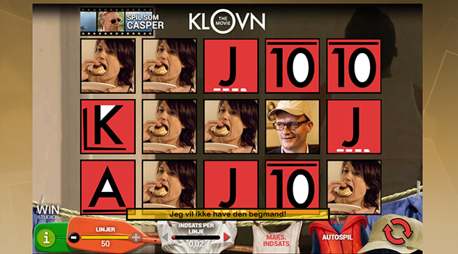 Klovn spilleautomat