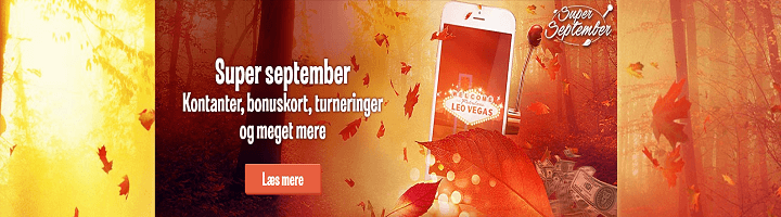 super september leovegas