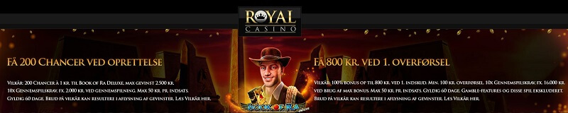 Royal Casinp bonus