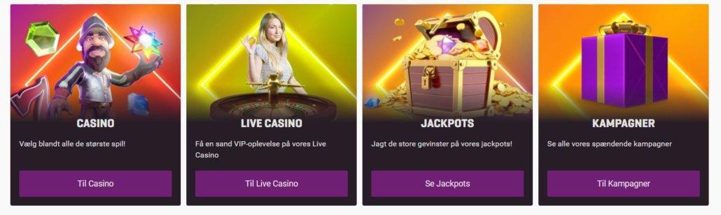 Casino.dk udvalg
