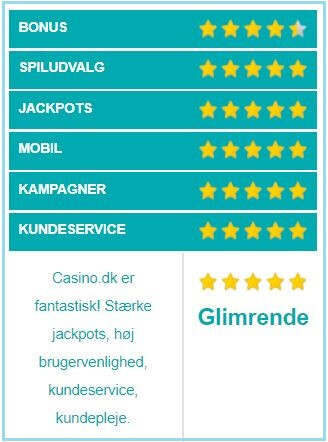 Casino.dk vurdering