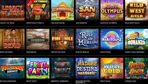 Mr Vegas Casino Spiludvalg