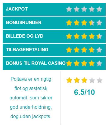 poltava spilleautomater vurdering
